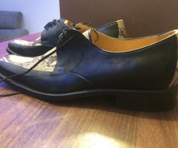 Туфли мужские новые 41 размер. Фото 2. Химки.