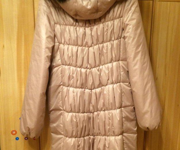 Зимнее пальто для беременных. Фото 2.