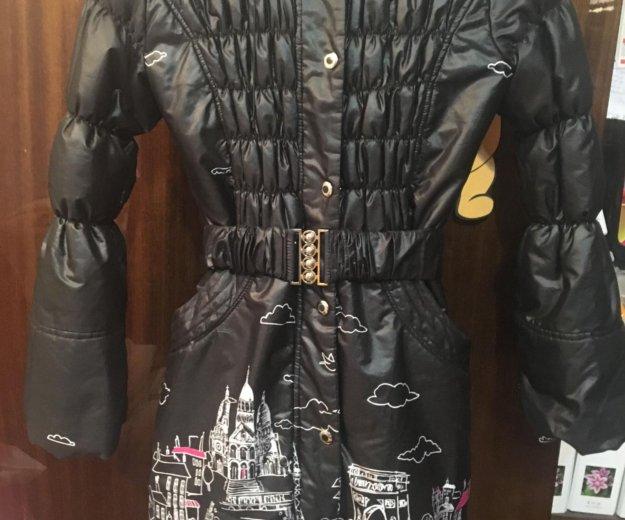 Пальто зимнее на девочку. Фото 2.