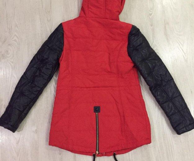 Зимняя куртка-парка. Фото 2.