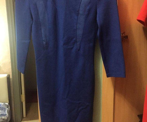 Синее платье. Фото 1. Краснодар.
