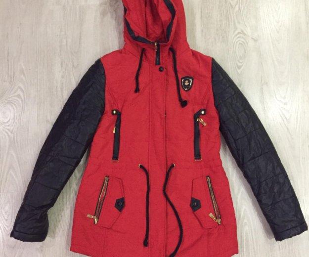 Зимняя куртка-парка. Фото 1.