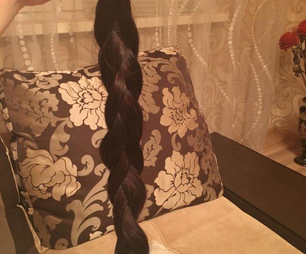 Волосы натуральные славянка 70 см. Фото 1.