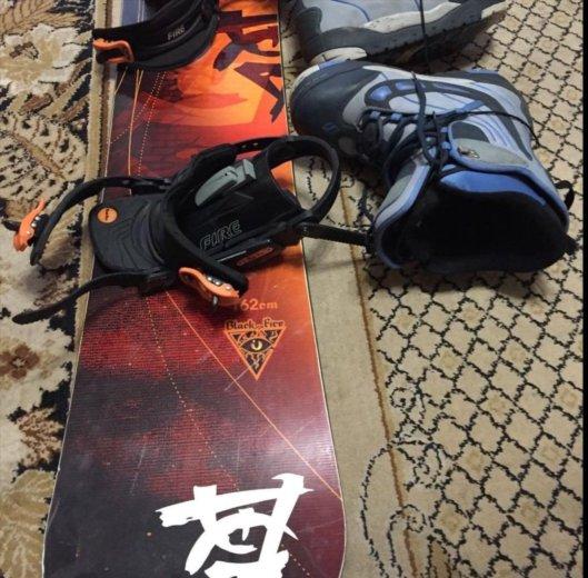 Сноуборд комплект ботинки и крепления 162см. Фото 4. Москва.