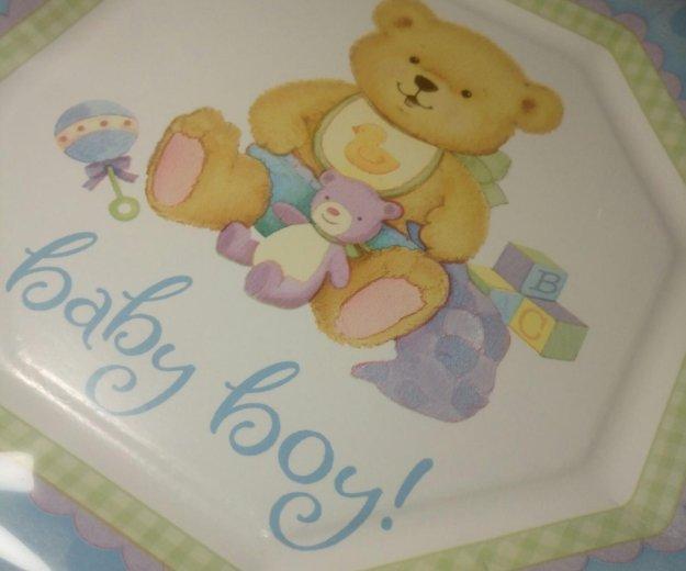 Набор детских бумажных тарелок 8 шт. Фото 2. Красногорск.