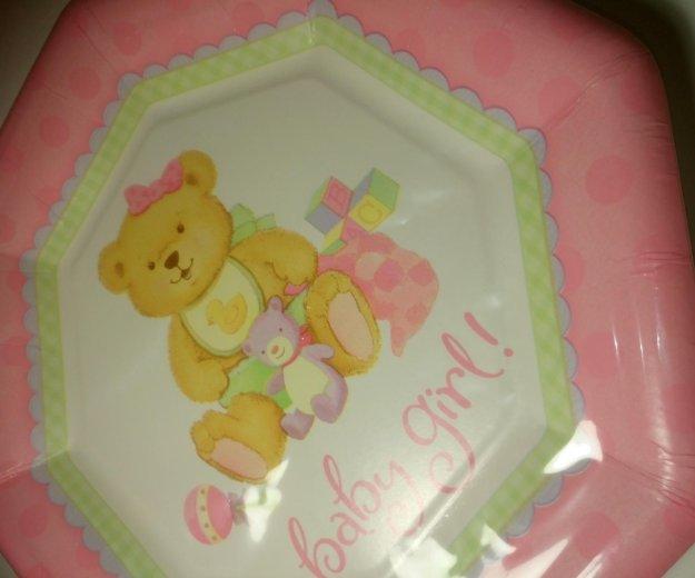 Набор детских бумажных тарелок 8 шт. Фото 3. Красногорск.