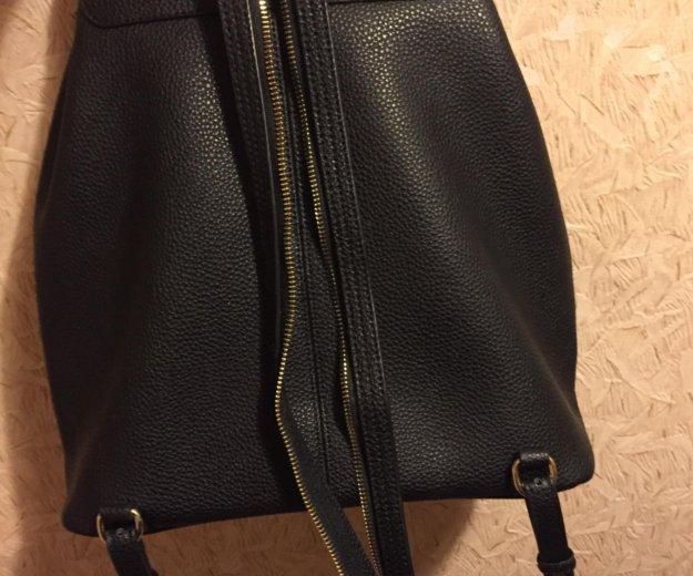 Рюкзак кожаный. Фото 2. Москва.