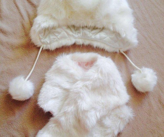 Пуховик, пальто, набор шапка шарфик. Фото 1. Краснодар.