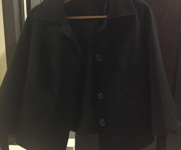 Драповое пальто. Фото 1.
