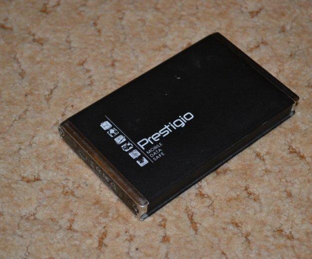 Переносной жесткий диск prestigio mhv2080ah 80гб. Фото 1. Ростов-на-Дону.