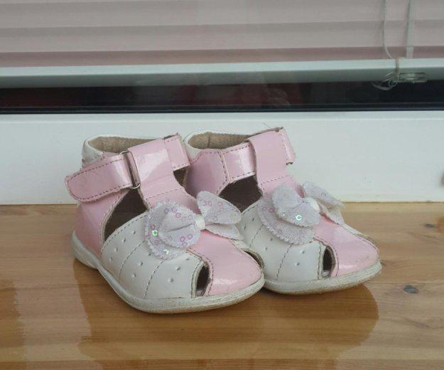 Туфли открытые для девочки р.19. Фото 1. Электросталь.