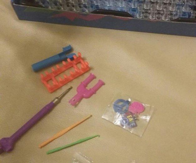 Набор для плетения из резиночек. Фото 1.