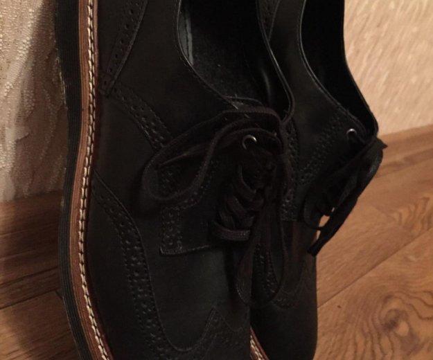 Новые мужские ботинки 42 размер. Фото 1.