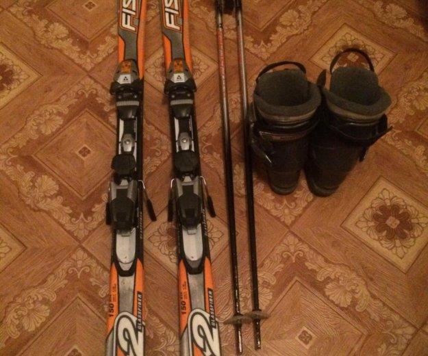 Горные лыжи комплект. Фото 1. Красногорск.