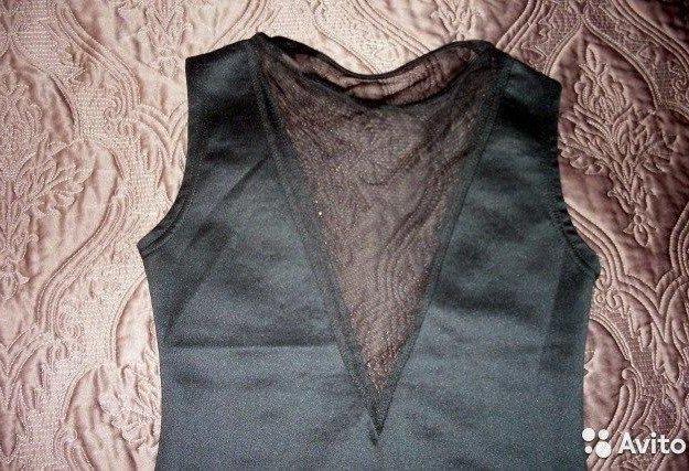 Коктейльное платье со стразами. новое. Фото 4. Санкт-Петербург.