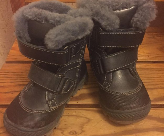 Зимние ботиночки 22 размер. Фото 1. Всеволожск.