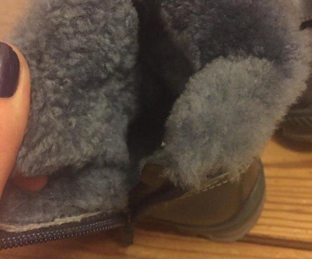 Зимние ботиночки 22 размер. Фото 2. Всеволожск.