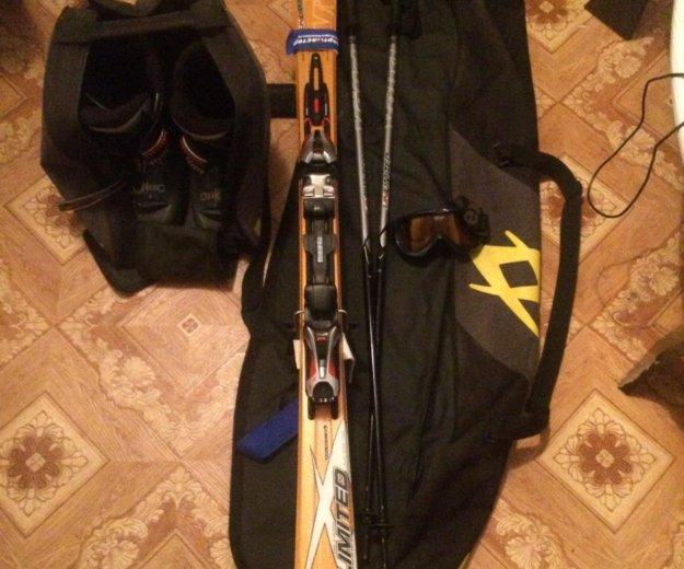 Горные лыжи. Фото 1. Красногорск.