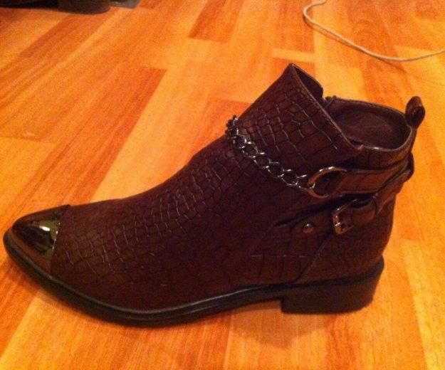 Новые ботинки 37 размер. Фото 1. Энгельс.