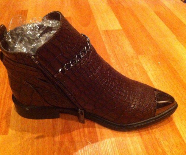 Новые ботинки 37 размер. Фото 2. Энгельс.