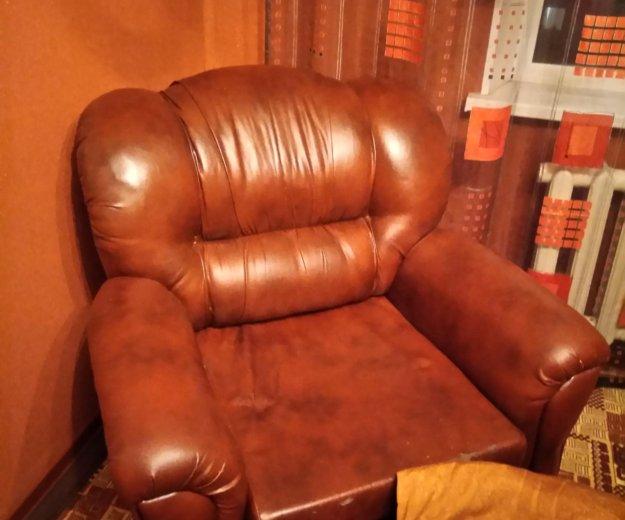 Кресло эко кожа. Фото 1. Кинель-Черкассы.