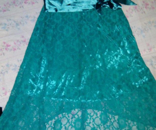 Гипюровое платье со шлейфом. Фото 3. Зверево.