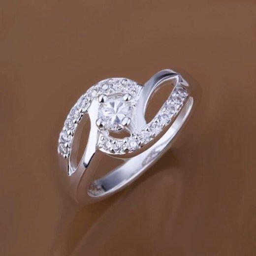 Изящное серебряное кольцо. Фото 2. Санкт-Петербург.