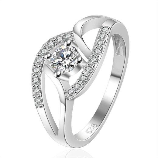 Изящное серебряное кольцо. Фото 1. Санкт-Петербург.