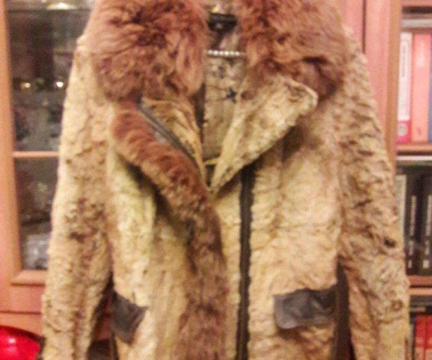 Отличная куртка из бобра+песец. Фото 1.