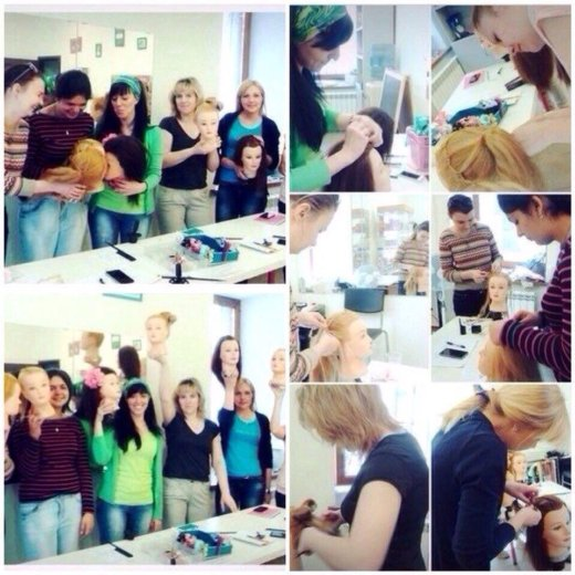 Обучение прическам, плетение кос. Фото 1. Москва.