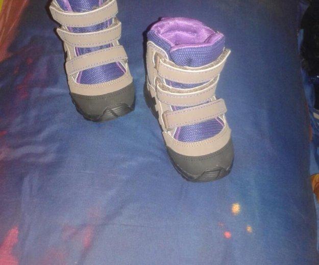 Ботинки демисизонные adidas. Фото 2. Хотьково.