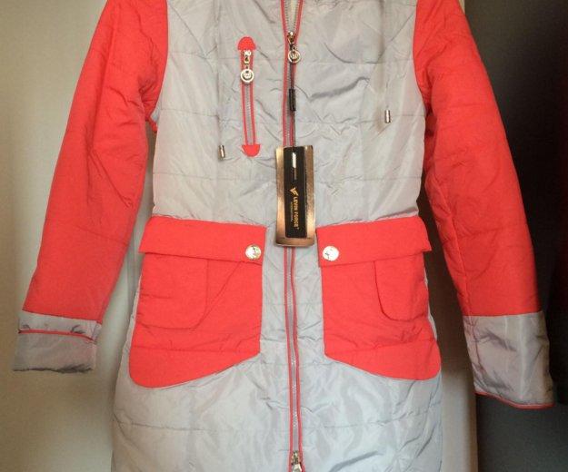 Новое пальто для девочки р.152. Фото 1. Москва.