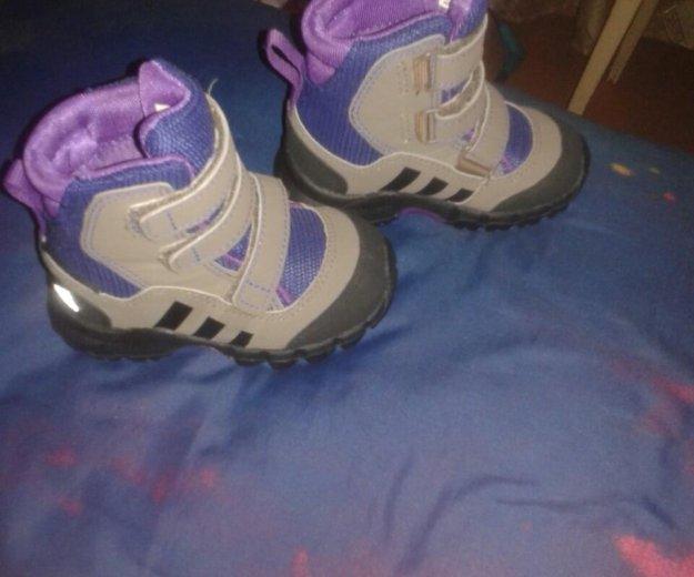 Ботинки демисизонные adidas. Фото 3. Хотьково.