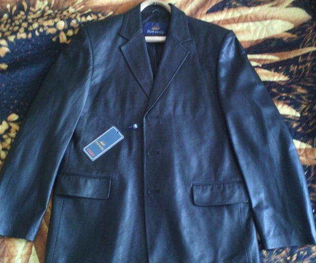 Кожаный пиджак. Фото 1. Воронеж.