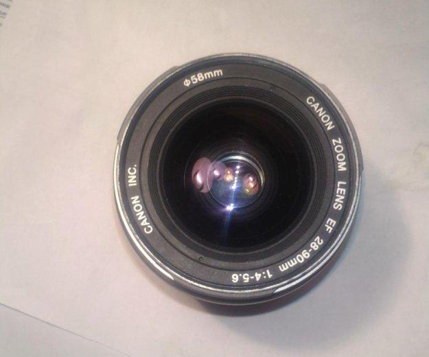 Canon zoom lens ef 28-90mm 1:4-5:6. Фото 2. Димитровград.