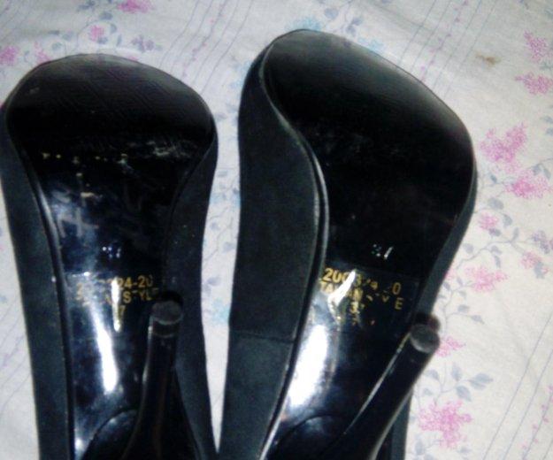 Туфли замшевые. Фото 3. Зверево.