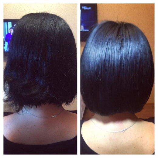 Кератиновое выпрямление волос honma. Фото 2. Москва.