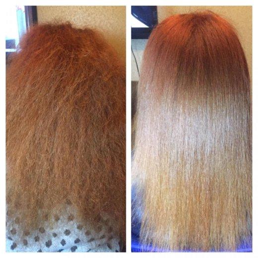 Кератиновое выпрямление волос honma. Фото 4. Москва.