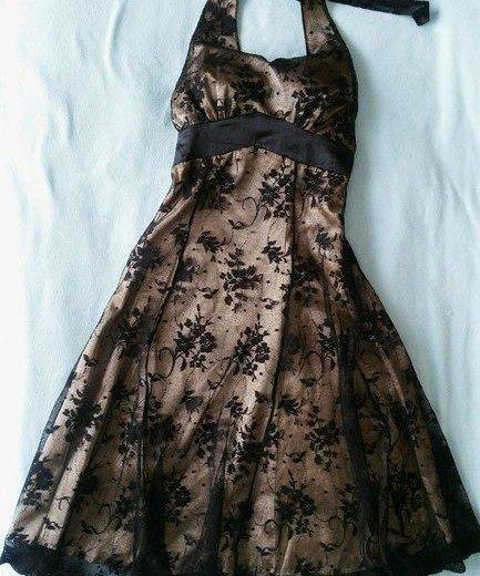 Платье с открытой спиной.. Фото 1. Дзержинский.