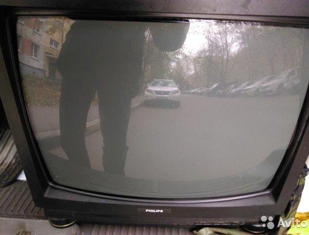 """Телевизор philips 21"""" (рабочий). Фото 1. Москва."""