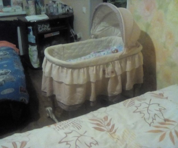 Детская кроватка -люлька. Фото 3.