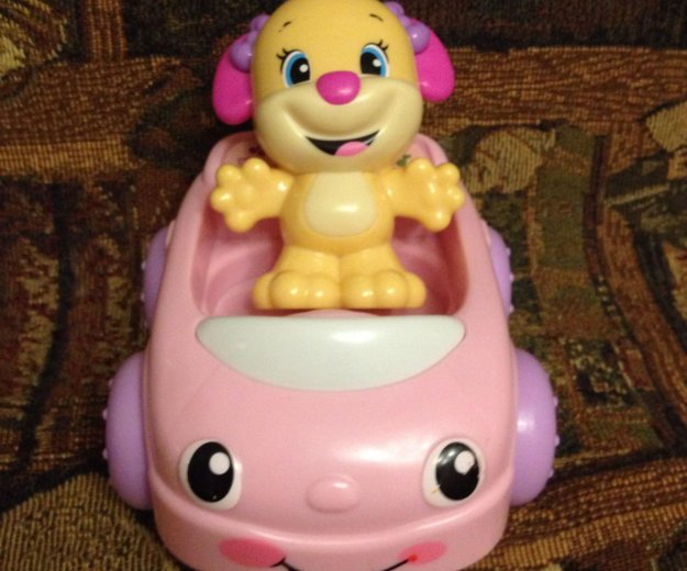 Розовый кабриолет. Фото 1.
