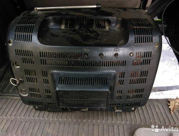 Телевизор винтажный переносной чб юность 406д. Фото 2. Москва.