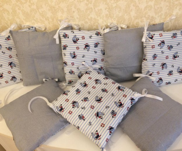 Бортик подушка в кроватку. Фото 3. Санкт-Петербург.