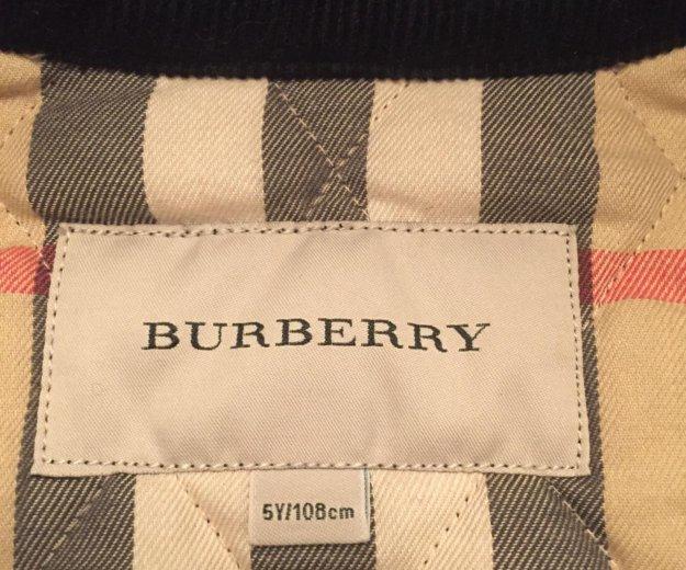 Burberry куртка оригинал. Фото 4. Москва.