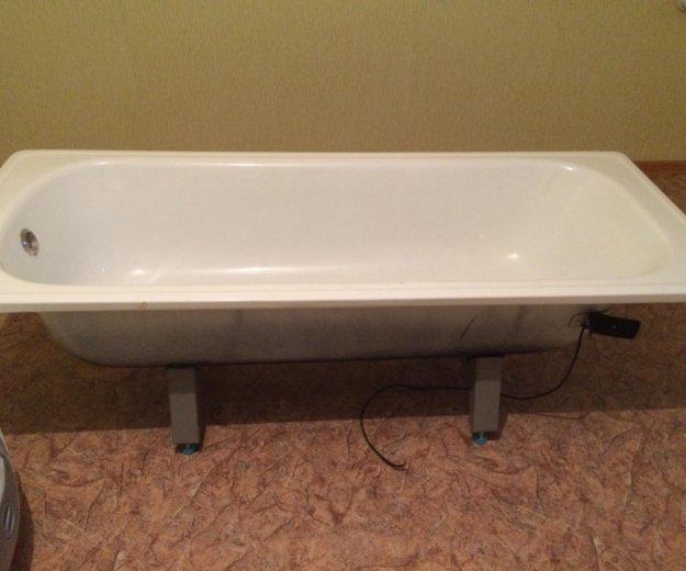 Продам (новые) стальную ванну, раковину. Фото 1.
