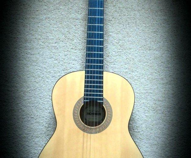 Классическая гитара hohner hc-06. Фото 2.