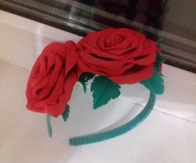 Ободок с розами. Фото 1. Томск.