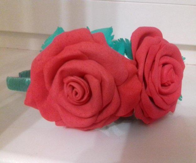 Ободок с розами. Фото 2. Томск.