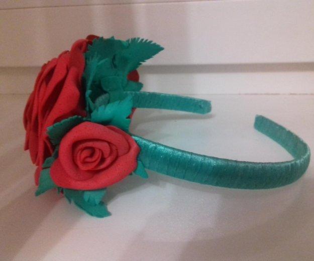 Ободок с розами. Фото 3. Томск.